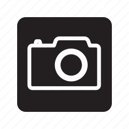 camera, image, photo, photography, pictures, square icon