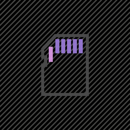 card, gsm card, sim card, technology icon