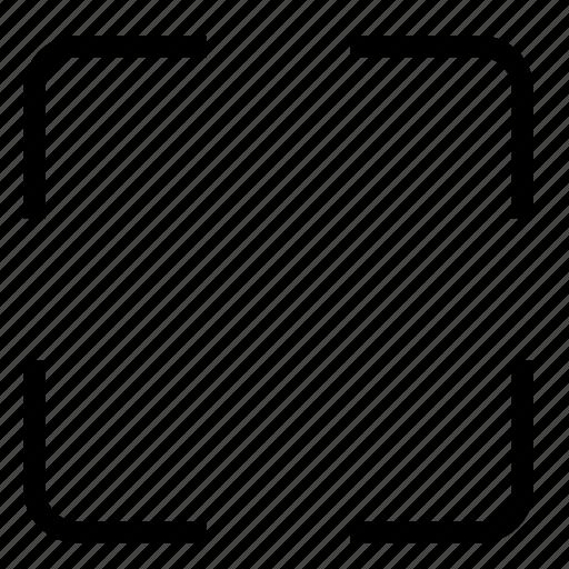camera, frame icon