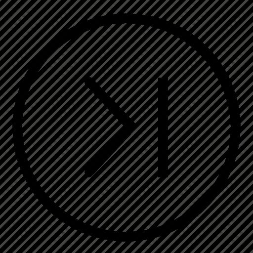 multimedia, next icon