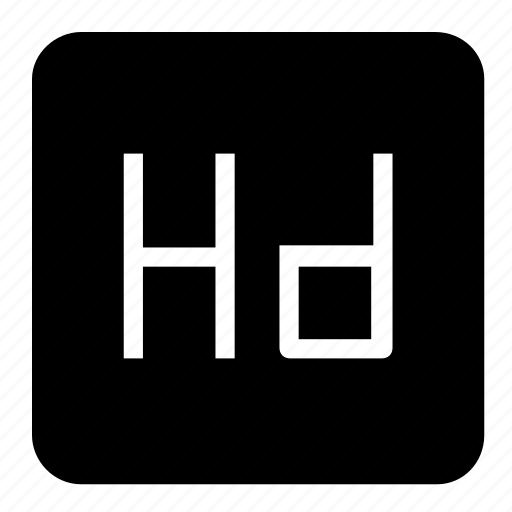 hd, media icon