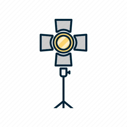 Camera, digital, light, photography, stand icon - Download on Iconfinder