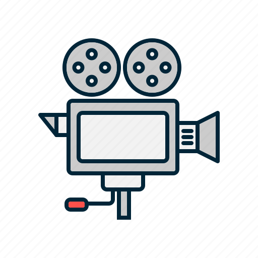 camera, cinema, digital, film, movie icon