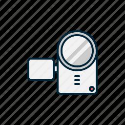 cam, camcorder, camera, digital, movie, video icon