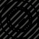 filter, glass, lens, lensfilter icon