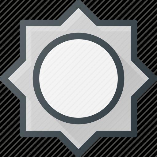 brightness, image, level, light, photo, photography icon