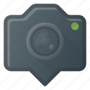camera, geolocation, image, location, photo, photography icon