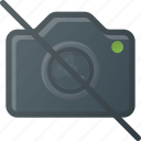 camera, disallow, image, no, photo, photography icon