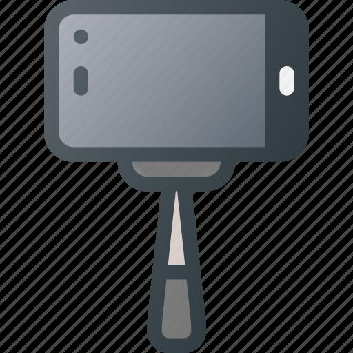 camera, image, mobile, photo, photography, selfie, stick icon