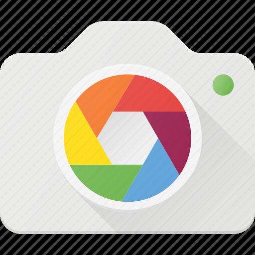 camera, image, iris, lens, photo, photography icon