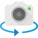 camera, degree, image, photo, photography, rotate icon