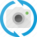 camera, image, photo, photography, rotate, vertical icon