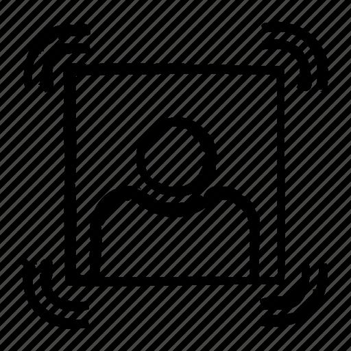 avatar, man, person, portrait, profile icon
