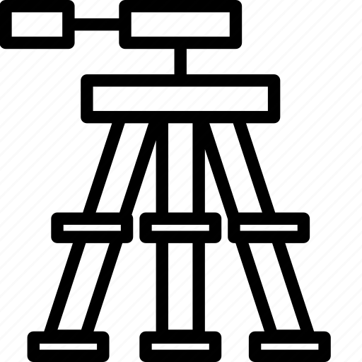Photography, stand, standing, tripod icon - Download on Iconfinder