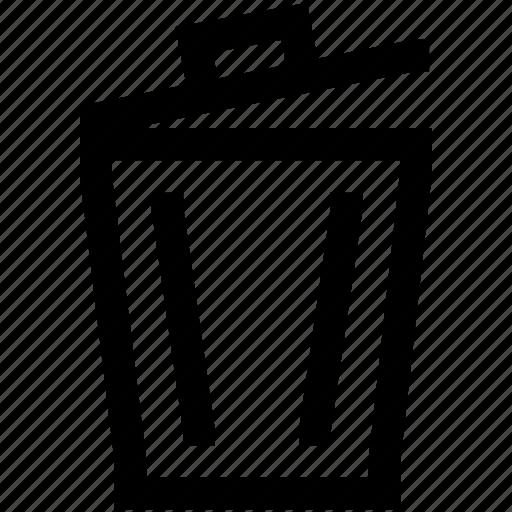 bin, camera, delete, photo, trash icon