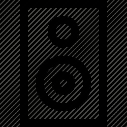 listen, music, song, speakers icon