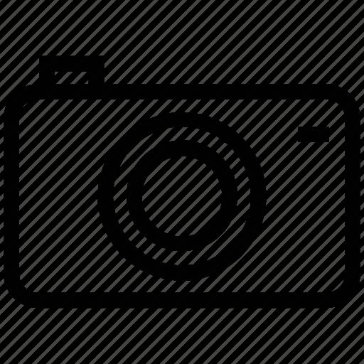 camera, camera outline, digital camera, flash camera, photo camera, photography icon