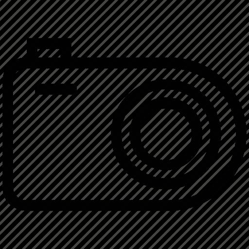 camera, camera outline, digital camera, flash camera, photo camera icon