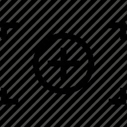 camera, camera zoom, image, image zoom, landscape zoom icon