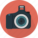 camera, capture, digital, dslr, professional, single-lens reflex, technology icon