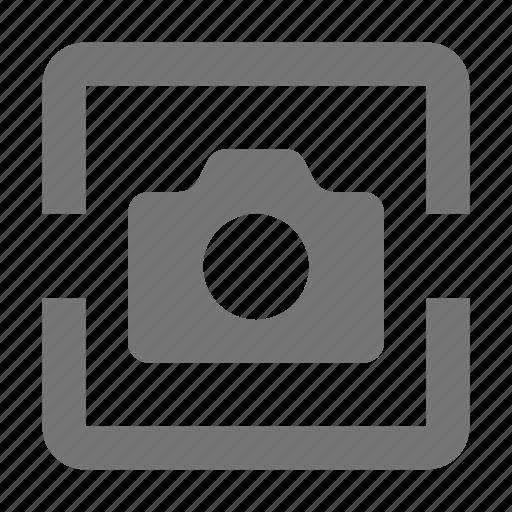 box, camera icon