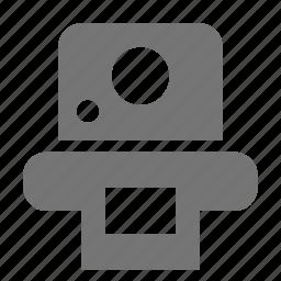 camera, polaroid icon