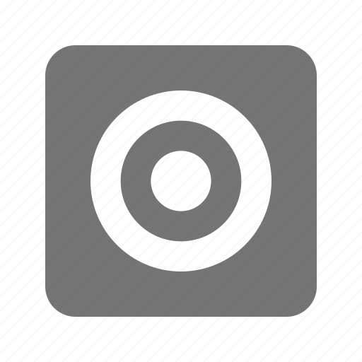 camera, view finder icon
