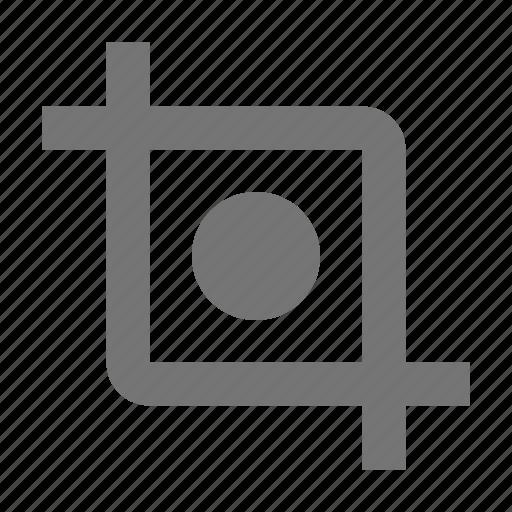 crop, frame, photo icon