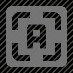 auto focus, focus icon