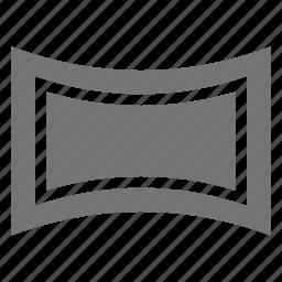 horizontal, panorama icon