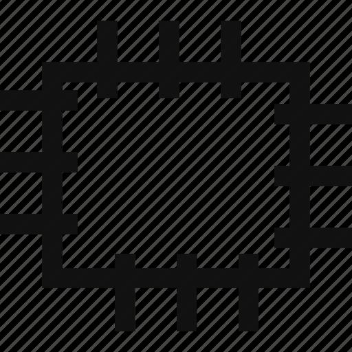 area, photoshop, select, square icon