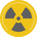 education, physics, radiation, science icon