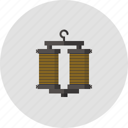 electricity, hank, lab, laboratory, magnet, physics, science icon