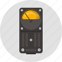 ammeter, amper, amperemeter, appliance, electricity, physics, volt icon