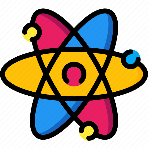 atom, education, physics, science icon