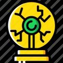 ball, education, physics, plasma, science icon
