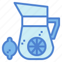 beverage, drink, lemon, lemonade icon
