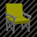 chair, folding, furniture, picnic icon