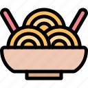 camping, fun, noodle, outdoor, picnic icon