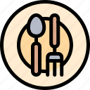 camping, cutlery, fun, outdoor, picnic icon