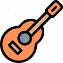camping, fun, guitar, outdoor, picnic icon