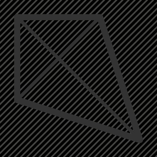 kite, picnic icon