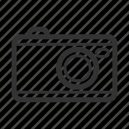 camera, picnic icon