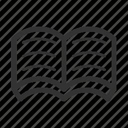 book, picnic icon