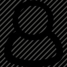 person, user icon