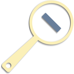 magnifier, minus, zoom, zoom out icon