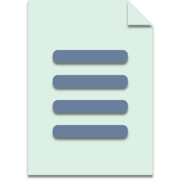 a4, information, office, paper, read icon