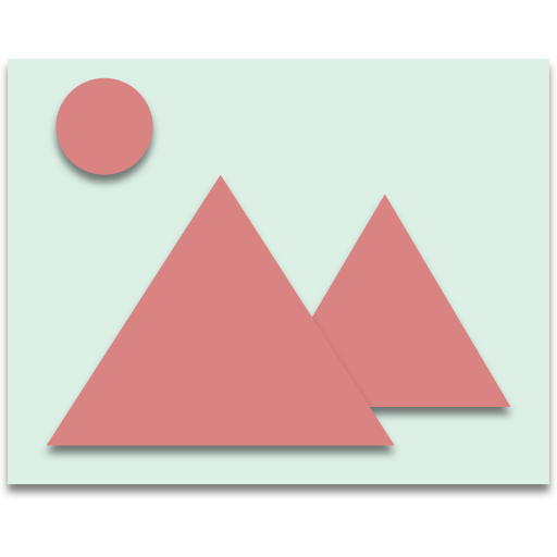 draw, mountain, picture icon