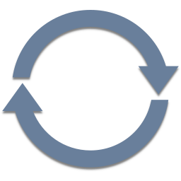 arrows, radial, refresh, waiting icon