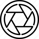 camera lens, capture, lenses, photo lens, photography, snapshot icon